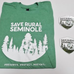 save rural seminole shirt and stickers